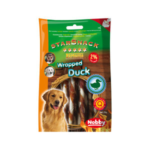 Nobby – Starsnack Barbecue Wrapped Duck Small – 70 g