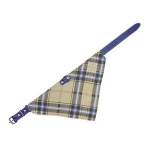 Nobby Leren Halsband – Blauw – 45 x 1,8 cm