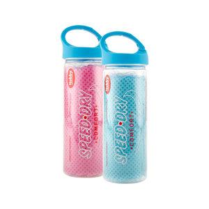Nobby Speed Dry Droogdoek Baby Blauw/Roze