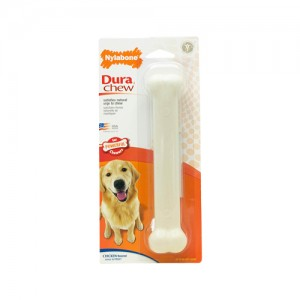 Nylabone Dura Chew Plus Chicken Hondenkluif - Large