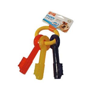 Nylabone Teething Puppy Keys - Large (middel en groot hondenras tot 30 kg)
