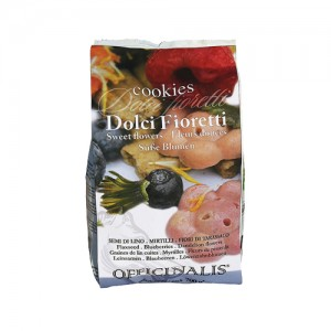 Dolci Fioretti Coogkies - Lijnzaad, bosbessen, paardenbloem - 700 g