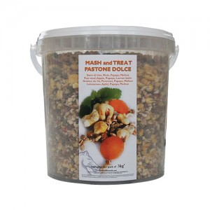Officinalis Mash Treat - Lijnzaad, appel, papaya en citroenmelisse - 3 kg
