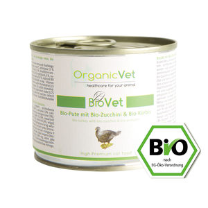 OrganicVet Cat BioVet - Biologische Kalkoen - 6 x 200 gram