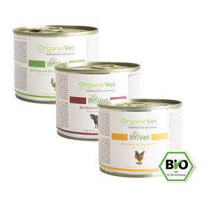 OrganicVet Cat BioVet – Mix – 6 x 200 gram