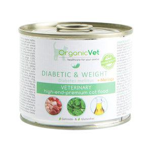 OrganicVet Cat Diabetes & Gewicht – 6 x 200 gram
