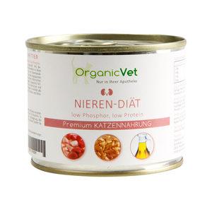 OrganicVet Cat Nierdieet - 6 x 200 gram