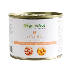 OrganicVet Cat Sensible - 6 x 200 gram