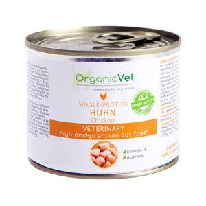 OrganicVet Cat Single Protein – Kip – 6 x 200 gram