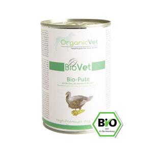 OrganicVet Dog BioVet - Biologische Kalkoen - 6 x 400 gram