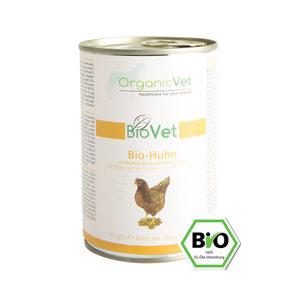 OrganicVet Dog BioVet – Biologische Kip – 6 x 400 gram