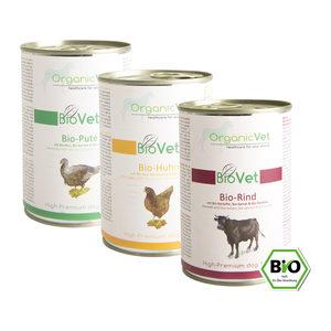 OrganicVet Dog BioVet – Mix – 6 x 400 gram