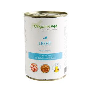 OrganicVet Dog Light - 6 x 400 gram