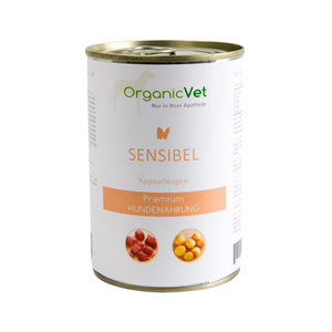 OrganicVet Dog Sensible - 6 x 400 gram