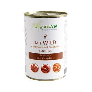 OrganicVet Dog Sensitive - Wild - 6 x 400 gram