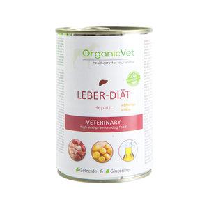 OrganicVet Dog Veterinary Diet - Lever - 6 x 400 gram