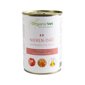 OrganicVet Dog Veterinary Diet - Nieren - 6 x 400 gram