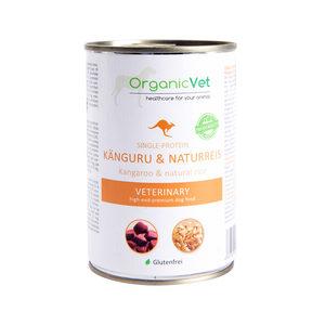 OrganicVet Dog Veterinary Diet Single Protein – Kangoeroe – 6 x 400 gram