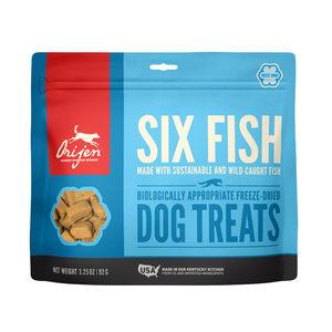 Orijen Six Fish Dog hondensnacks 92 gram