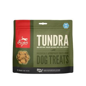 NIEUW Orijen Dog Treat Freeze Dried Tundra (ca. 40 stuks)