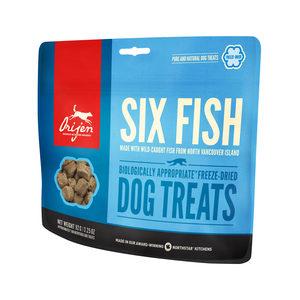 Orijen Dog Treats Freeze Dried Whole Prey – Six Fish – (ca. 100 stuks)