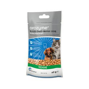 Orozyme Bucco-Fresh Dental Snack kleine hond en kat 60 gram