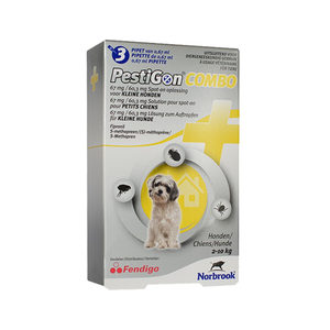 Pestigon Combo Spot-on Hond S (2-10kg) - 3 pipetten