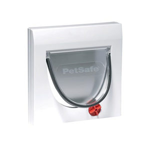 PetSafe Staywell Klassiek Kattenluik - Wit - zonder Verlengstuk