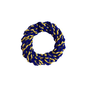 Petsport Braided Cotton Rope Ring - 17,5 cm