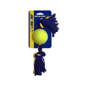 Knopen Katoenen Touw + tennisbal