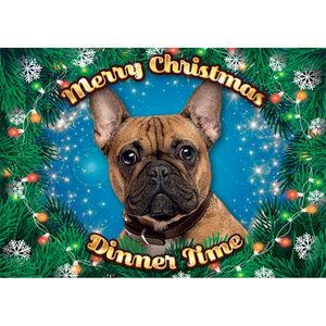 Plenty Gifts - Xmas Placemat Franse Bulldog - 42 x 30 cm