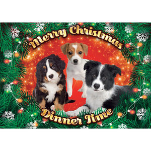 Plenty Gifts - Xmas Placemat Puppy's - 42 x 30 cm
