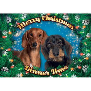 Plenty Gifts - Xmas Placemat Teckel - 42 x 30 cm