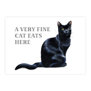 Plenty Gifts Placemats - A Very Fine Cat