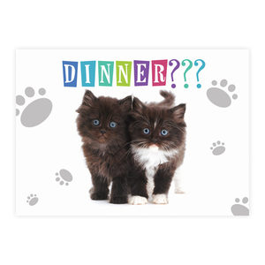 Plenty Gifts Placemats - Kittens Dinner