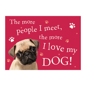 Plenty Gifts Placemats - Pug The More