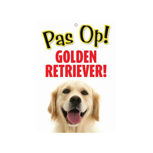 Afbeelding Plenty Gifts Waakbord - Golden Retriever