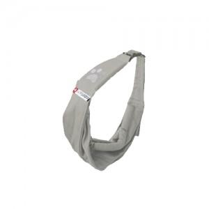 Afbeelding van 4lazylegs Hondendraagzak Pocket Canvas - XS - Mineral Grey (Grijs)