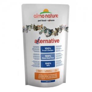 Almo Nature Alternative Cat Droogvoer - Kip en Rijst - 750 gram