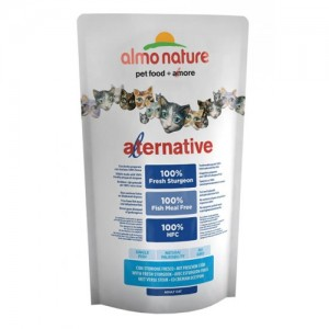 Almo Nature Alternative Cat Droogvoer - Steur en Rijst - 750 gram