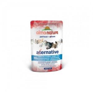 Almo Nature Alternative Cat Natvoer - Atlantische Oceaan Tonijn - 24 x 55 g