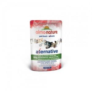 Almo Nature Alternative Cat Natvoer - Stille Oceaan Tonijn - 24 x 55 gram