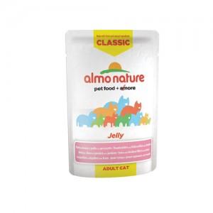Almo Nature Classic - Jelly Tonijn, Kip & Ham - 24 x 55 gr
