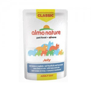 Almo Nature Classic - Jelly Tonijn & Tong - 24 x 55 gr