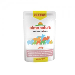 Almo Nature Classic - Jelly Tonijnfilet & Garnalen - 24 x 55 gr