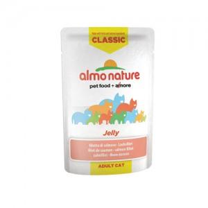 Almo Nature Classic - Jelly Zalm - 24 x 55 gr