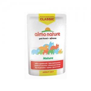 Almo Nature Classic - Nature Kip & Garnalen - 24 x 55 gr