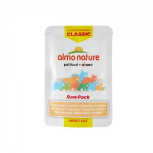 Almo Nature Classic - Raw Pack Kipfilet en Ham - 24 x 55 gr