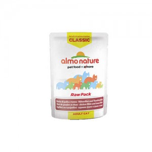 Almo Nature Classic - Raw Pack Kip en Tonijn - 24 x 55 gr