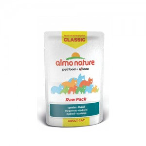 Almo Nature Classic - Raw Pack Makreel - 24 x 55 gr